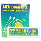 MED COMFORT Wattestäbchen für Mundhygiene, 25 x 3 Stück