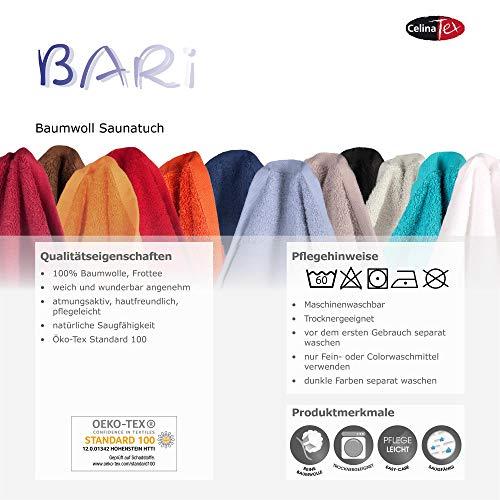 Bari Saunatuch 100% Baumwolle - 4