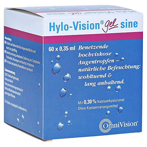 Hylo-Vision Gel sine EDO Augentropfen, 60x0,35 ml