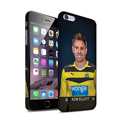 Officiel Newcastle United FC Coque / Clipser Matte Etui pour Apple iPhone 6S+/Plus / Janmaat Design / NUFC Joueur Football 15/16 Collection Elliot