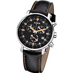 Urs Auer ZU-611 Alpine Glow Chronograph für Ihn SWISS ISA