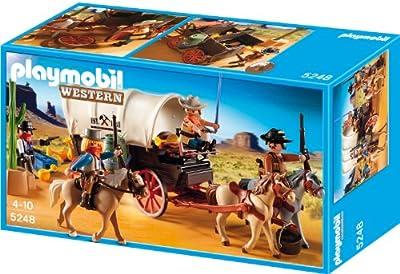 Caravana con bandidos del oeste de Playmobil (5248)