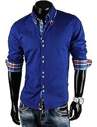 CARISMA Herren Hemd Slim Fit Langarmhemd in verschiedenen Farben