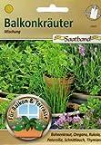 Balkonkräuter Saatband für Balkon & Terrasse Bohnenkraut Oregano Rukola Petersilie Schnittlauch Thymian Kräuter 43905