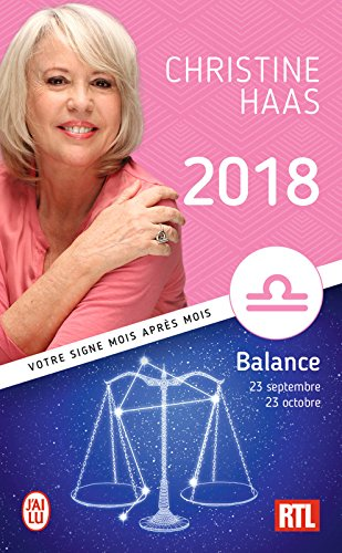 Balance 2018 (ASTROLOGIE) par Christine Haas