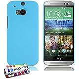 Muzzano F431015 - Funda para HTC One M8, color azul lago