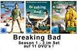 Braking Bad - Die komplette Season/Staffel 1-3 im Set [11 DVDs]