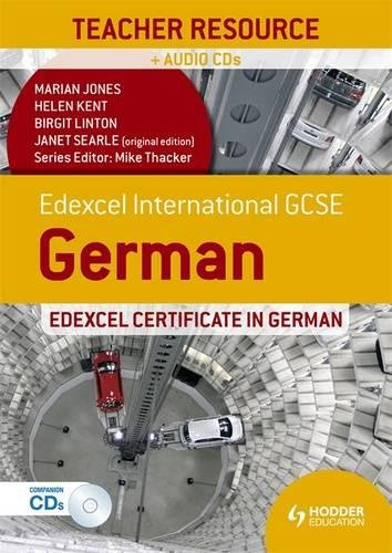 Edexcel international GCSE and certificate German. Teacher resource