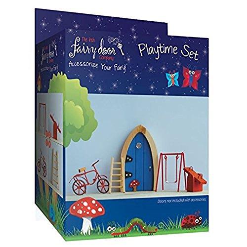 Irish Fairy Door, 4 Piece Playtime Set by The Irish Fairy Door