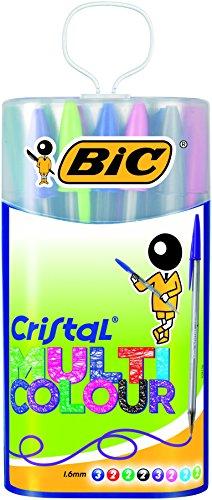 bic-cristal-multicolor-926380-stylo-bille-non-rtractable-couleurs-classiques