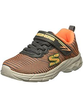 Skechers Zapatillas con Elastico Y ABROJO ECLIPSOR Bimbo 95030N Gris/Naranja