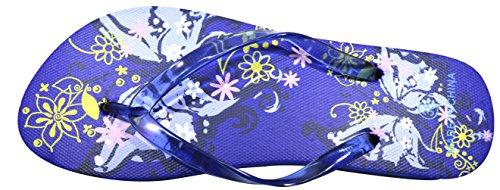 Octave , Tongs pour femme Butterfly Design - Blue