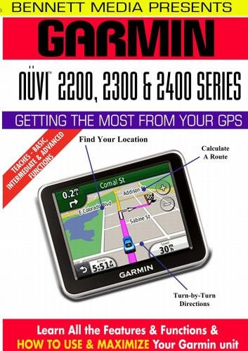 Garmin Nuvi 2000 Series (2200, 2250, 2250LT, 2300, 2300LM, 2350, 2350LT, 2350LMT, 2360LT, 2360LMT, 2370LT, 2450, 2450LM, 2460LT, 2460LMT Garmin Video-training, Gps