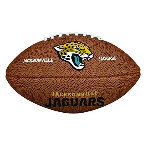 Wilson NFL Team Logo Mini Jacksonville Jaguars American Football, Braun, Größe Mini