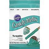 Wilton 1911-9424 Turquoise Candy Melts Candy by Wilton Enterprises