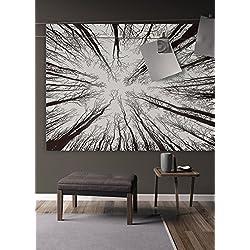 Premium calidad bohemio Mandala tapiz tejido bosque por Varano–HD no-fading impresión Digital–claro patrones y colores vivos, negro y blanco