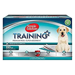 Simple Solution 6 x Layer Dog and Puppy Training Pads - 100 Pack