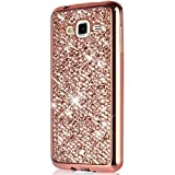 Coque Galaxy Grand Plus,Surakey Paillette Bling Glitter Ultra Mince Transparente...