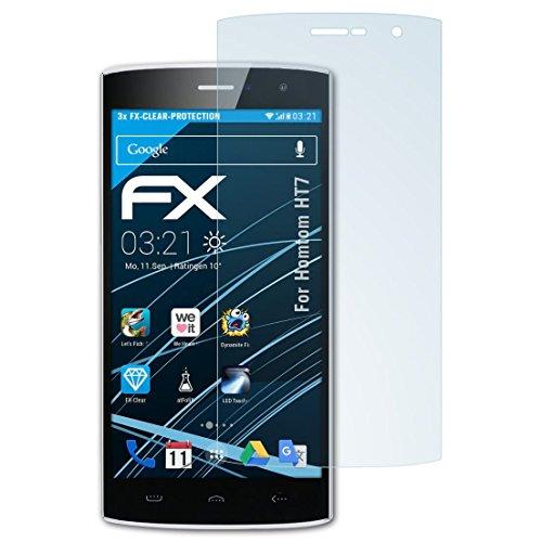 atFolix Schutzfolie kompatibel mit Homtom HT7 Folie, ultraklare FX Bildschirmschutzfolie (3X)
