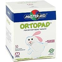 Ortopad medium Augenokklusionspflaster, 50 St preisvergleich bei billige-tabletten.eu