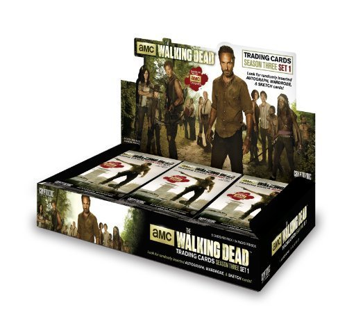 Walking Dead TV Series Season 3 Trading Card Box [24 Packs] by Cryptozoic Entertainment