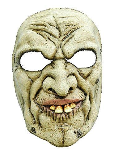 Halloween Karneval Party Kostüm Hexer Maske des Grauens aus Latex für ()