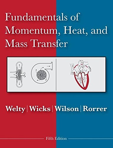 Fundamentals of Momentum, Heat and Mass Transfer Wärmeübertragung 5.
