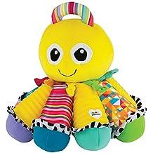 """Lamaze Babyspielzeug """"Song-Krake"""" mehrfarbig - hochwertiges Kleinkindspielzeug - vereint Kuscheltier & Greifling - fördert Tastsinn und Hörvermögen Ihres Kindes - ab 6 Monate"""