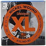 D'Addario EKXL120 - Juego de cuerdas para guitarra eléctrica de níquel