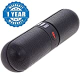 #3: Lenovo P2 AAA+ Compatible Bluetooth Capsule ( Pill ) Speaker with FM | Pendrive SD card input | MP3 music player | Portable Device | Handsfree | Mic | Stereo speaker | mini Speaker | High Definition Audio Compatible with Android Devices capsule pill car outdoor speaker