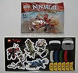 Ninjago Legacy Lego 30535 Kai's Mini Drachen Kai + 1 Ninja Aufkleber Polybag Ovp