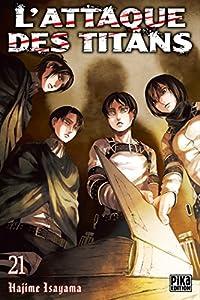 L'Attaque des Titans Edition simple Tome 21