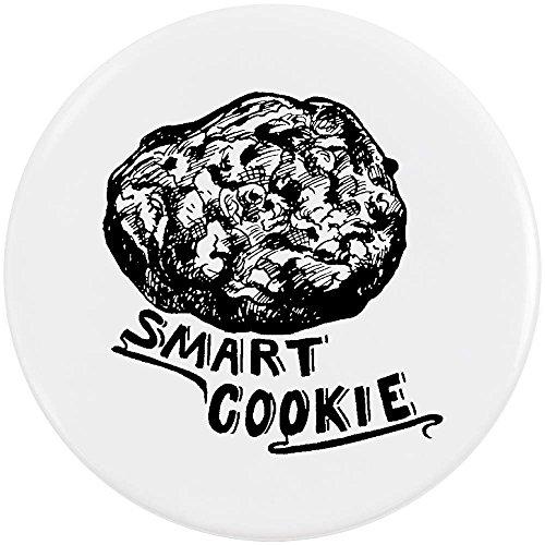 Azeeda 58mm 'Smart Cookie' Pin Knopf-Abzeichen (BB00040654) Cookie-pin