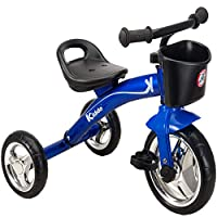 Kiddo Trike for Children 2-5yrs Smart Design Ride On Tricycle - Blue