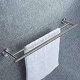 Doppelter Handtuchhalter, Dailyart Badezimmer Handtuchstange Bad Ohne Bohren...
