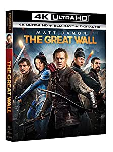 The Great Wall (Blu-Ray 4K UltraHD + Blu-Ray)