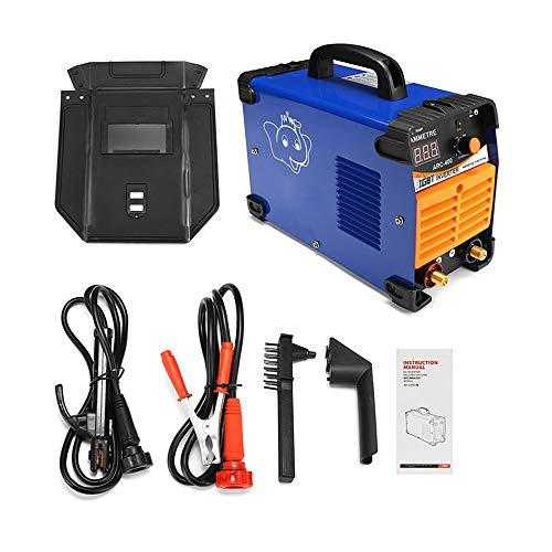IGBT Inverter Schweißgerät Mini ARC Welder 220V 10-400A Schweißstab: 1.6-3.2MM, Schweißclip, Schweißzange
