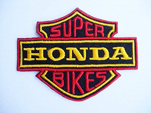 Patches - Honda Super Bikes - Motorbike - Motorsport - Motorcycles - Biker - Iron on Patch - Applique embroidery Écusson brodé Costume Cadeau- Give Away (Et Costume Bike)
