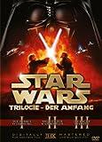 Star Wars Trilogie: Der Anfang - Episode I-III [3 DVDs] - Christopher Lee, Samuel L. Jackson, Natalie Portman, Ian McDiarmid, Ewan McGregor