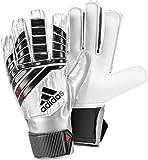 adidas Kinder Predator Junior Mamuel Neuer Torwarthandschuhe, White/Silver Metallic/Solar Red, 6