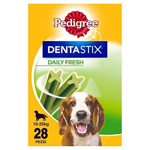 Pack de 28 Dentastix Fresh de uso diario para higiene oral y...
