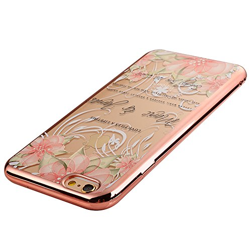 Sunroyal iPhone SE/ 5S/ 5 Silicone Case Cover, Scratch-resistant Ultra Slim TPU Case Cover Soft Protective with Natural Pattern Design Transparent Cover Katze pattern Transparent Soft silicone sleeve  Pattern 05