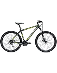 "Gravity 27,5 VERTEK de ciclismo de bicicleta, color negro y Verde 24 velocita'(MTB)/Bicycle MTB Gravity 27,5 24"" speed (MTB) Green Black /"
