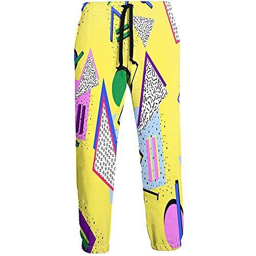Eternity Bliss 80s 90s Hipster Geometry Pantalones