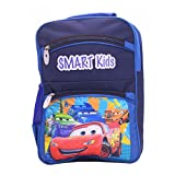 Tinytot Designer Racer Car School Bag for Boys (Blue)