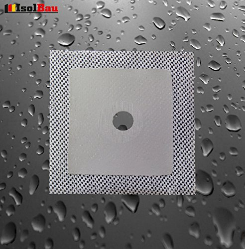 Wandmanschetten Wandmanschette 120 x 120 mm Abdichtung Bad Küche Dichtband -