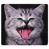 Inovey 3D Cute Ausdrücke Katzen Werfen Kissen Koffer Sofa Büro Auto Kissen Cover Geschenk - Fast-Food-Katze