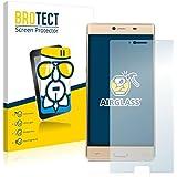 BROTECT AirGlass Protector Pantalla Cristal Flexible Transparente para Elephone M2 Protector Cristal Vidrio - Extra-Duro, Ultra-Ligero, Ultra-Claro