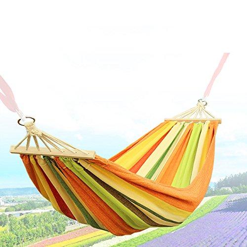Outdoor Reise-Hängematte Ultra-light 2.5*1m Matte 150kg Belastbarkeit Set mit Befestigung für Reise, Camping, Garten, Trekking, Strand, Travel-Hammock