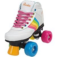 Rookie Forever Rainbow V2 Patines, Mujer, White/Multi, 34
